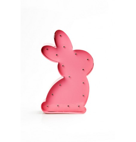 rosa-hase-lampe-led-kinderambiente