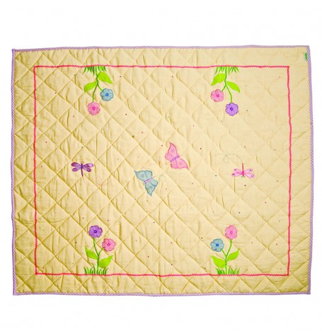 win green spielteppich butterfly